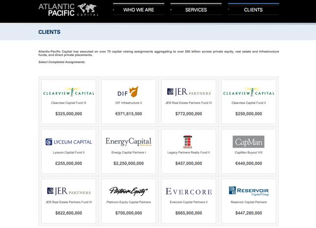 Private Equity Website Design