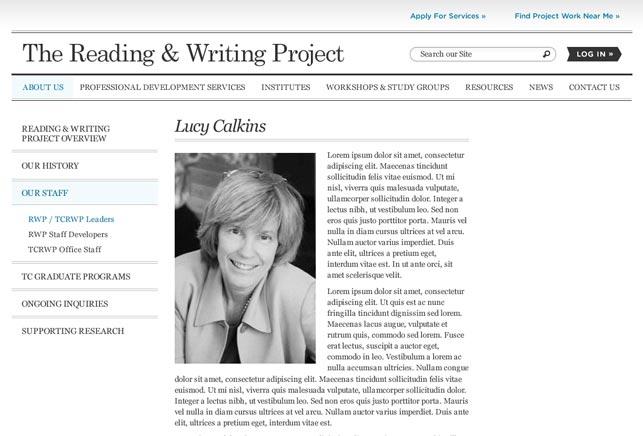 University New York Website Design
