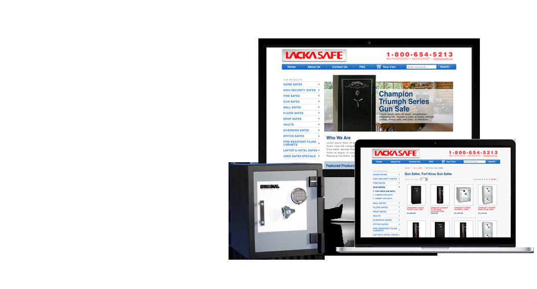 ecommerce site design