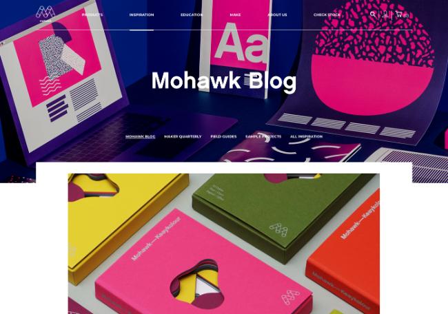 ecommerce website design blog