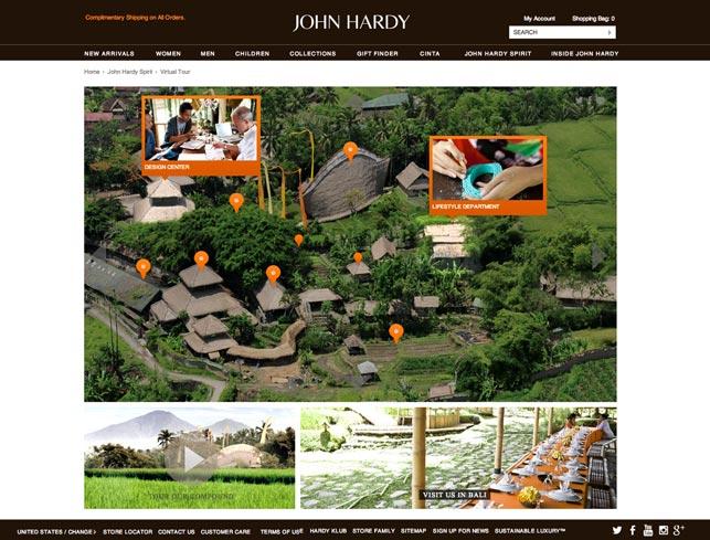 ecommerce website design virtual tour