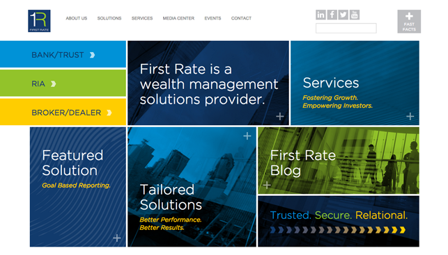 Fintech Website Design New York