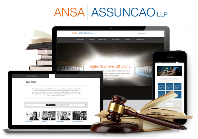 law firm website desig