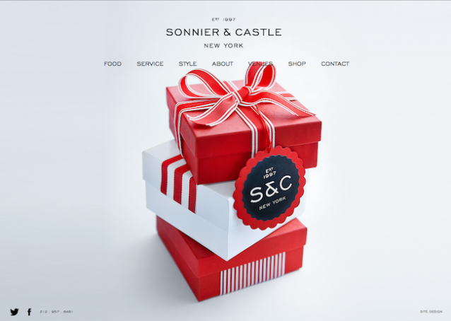 Sonnier & Castle Shopping Website