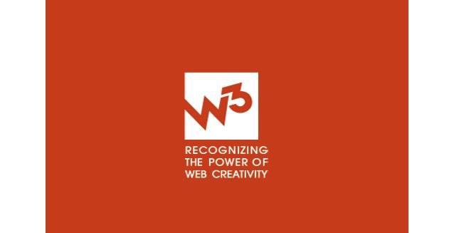 w3 award logo