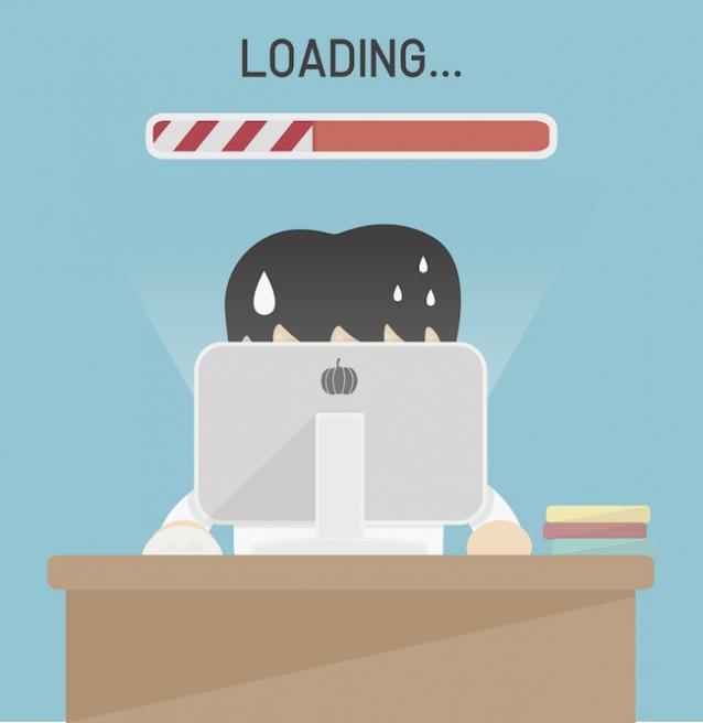 web page load speed