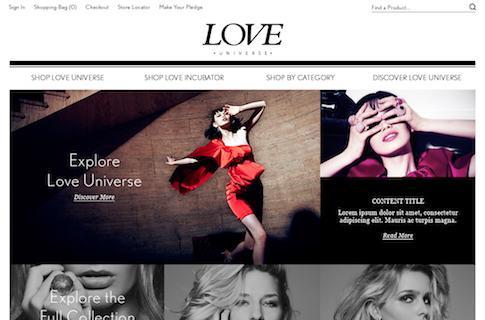 Ecommerce Startup Website Design