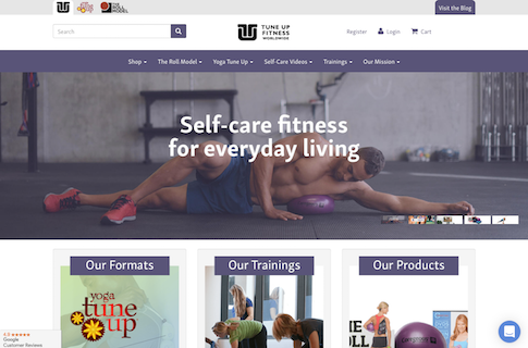Fitness Ecommerce Website Design Case Study