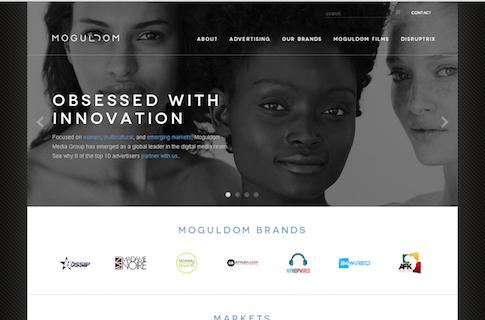NYC Media Company Web Design