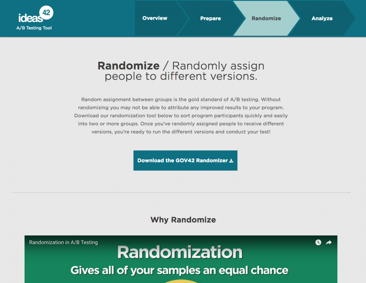 web design for consulting company randomize data